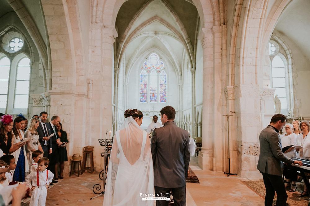 mariage à l'église avant la pandémie de COVID-19