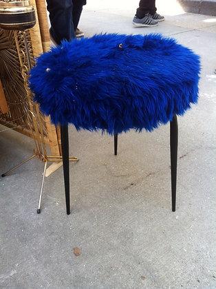 tabouret bleu