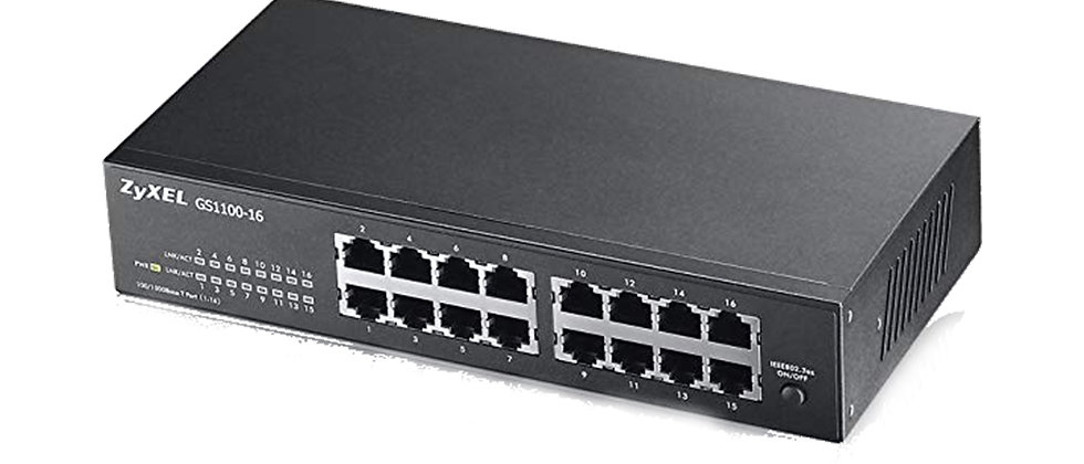 ZYXEL GS-1100-16 GIGABIT 16 PORT SWITCH