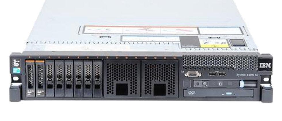 IBM x3690 X5/2x X7560/ 128 GB RAM/8x 600 GB HDD SUNUCU