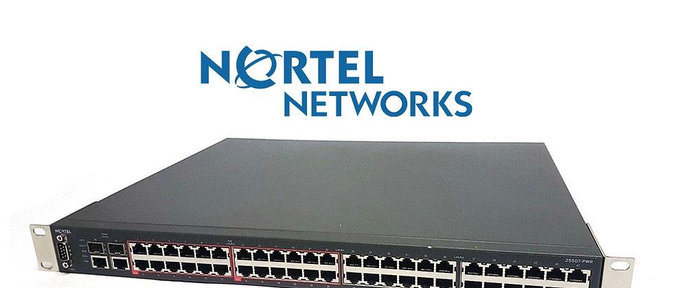 NORTEL 2550T-PWR 48 Port 10/100 / 24 Port PoE Switch
