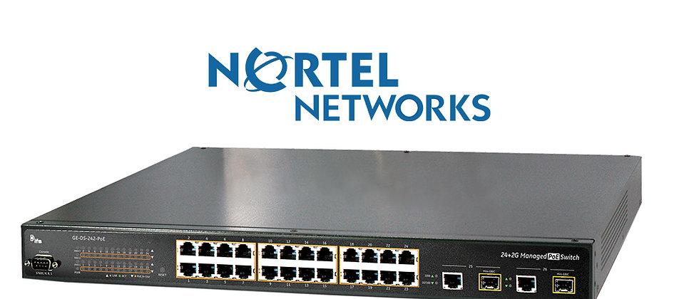 Nortel GE-DS-242-PoE / 24 Port 10/100 Poe Switch
