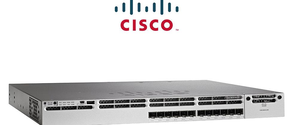 Cisco Catalyst WS-C3850-12S-S 12x SFP Portlu & IP Based Switch