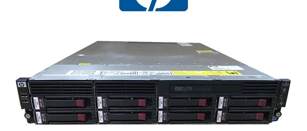 HP STORAGEWORKS P4300 G2 1x e5620/32GB/8x450GB DEPOLAMA SUNUCUSU
