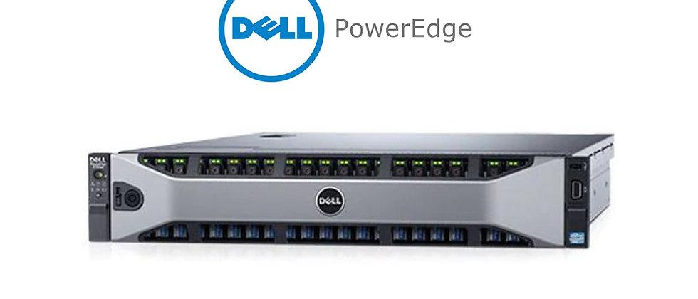 DELL POWEREDGE R730xd/2xE5-2658v3/128GB RAM/19 TB TOPLAM HDD