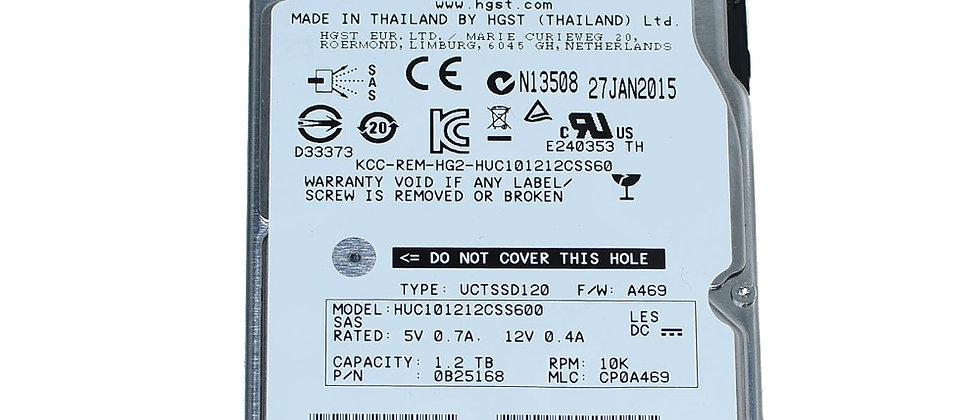 "HGST HUC101212CSS600 /1.2TB 10K SAS 6Gb/s 2.5""/R5E-J1R2SS HDD"