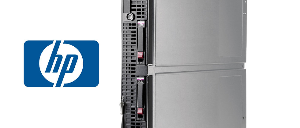HP PROLIANT G7 BL620C/ INTEL XEON E7-2450/32x16GB/2x146GB HDD BLADE SERVER