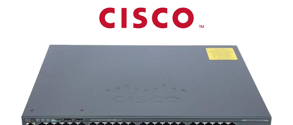 CISCO WS-C2960X-48FDP-L/48 PORT POE+/2x 10G UPLINK SFP+SWITCH