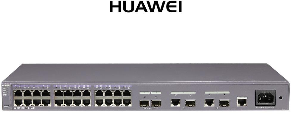 Huawei S2350-28TP-EI-AC / 28 Port Gigabit Switch