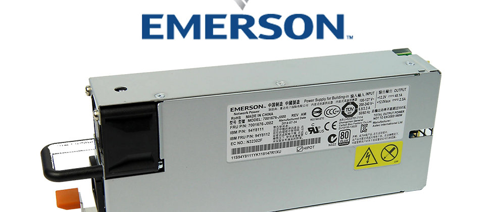 IBM EMERSON FRU: 7001606-J002 900W X3650 & x 3550 M4 POWER SUPPLY