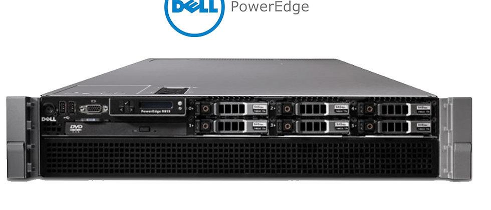 Dell R815 2U/4*AMD 6174/48 Core /128GB RAM/2*300GB HDD SUNUCU