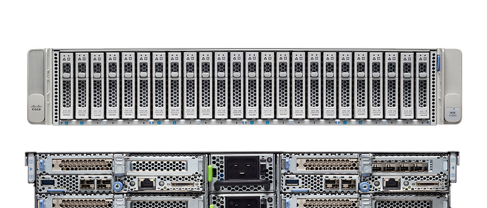 CISCO VCS C240 M3 / 2 x E5-2670 v2 / 128GB Ram / 24 x 1.2Tb HDD