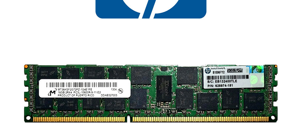 HP 16GB 2RX4 PC3L 10600R-9/ 628974-181 RAM
