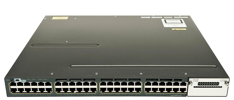 Cisco WS-C3560X-48T-S 48 Port Gigabit+C3KX-NM-1G Switch