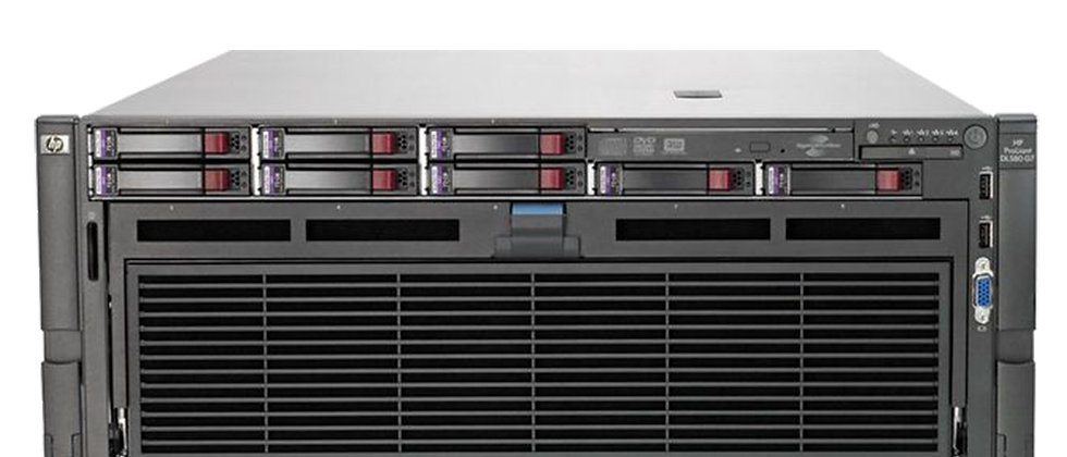 HP ProLiant DL580 G7 4U/2x i7-4870/8x8GB RAM/4x300 HDD SUNUCU