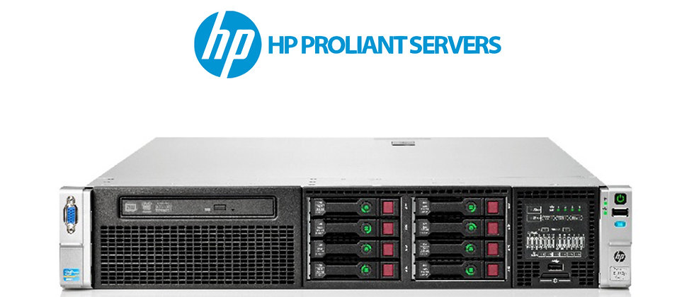 HP DL380P GEN8/2x E5-2670/96 GB RAM/4x600 GB 10K HDD