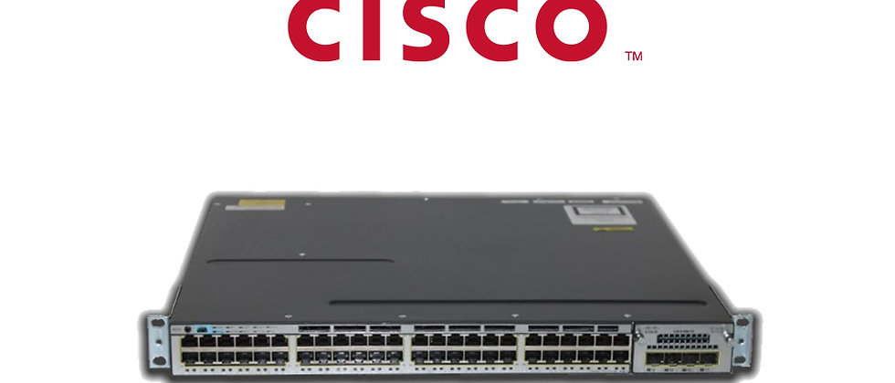 CISCO WS C3750X-48T-S 48 PORT GİGABIT + 4 Port 10G Swıtch