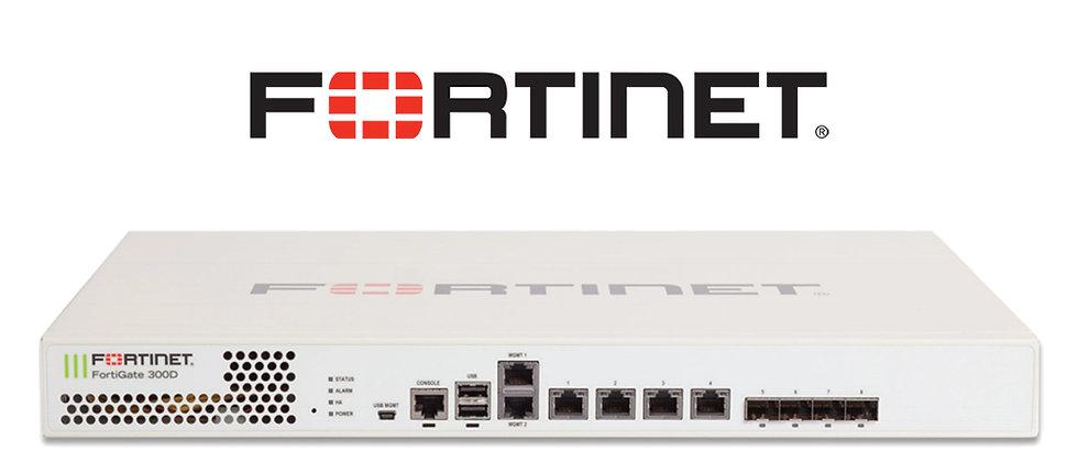 FORTIGATE FG 300D FGT3HD3914800284 Firewall