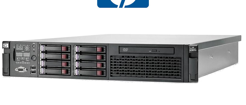 HP DL380 G7 / 2x5650 Intel Xeon, 64GB, 3x300GB HDD SUNUCU