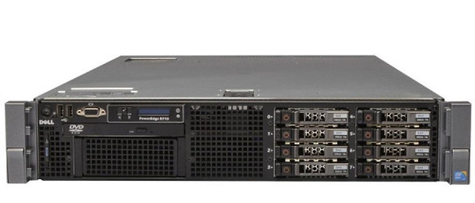 DELL R710 2U /2x X5650 / 64 GB Ram /3 x 300 15K HDD SUNUCU