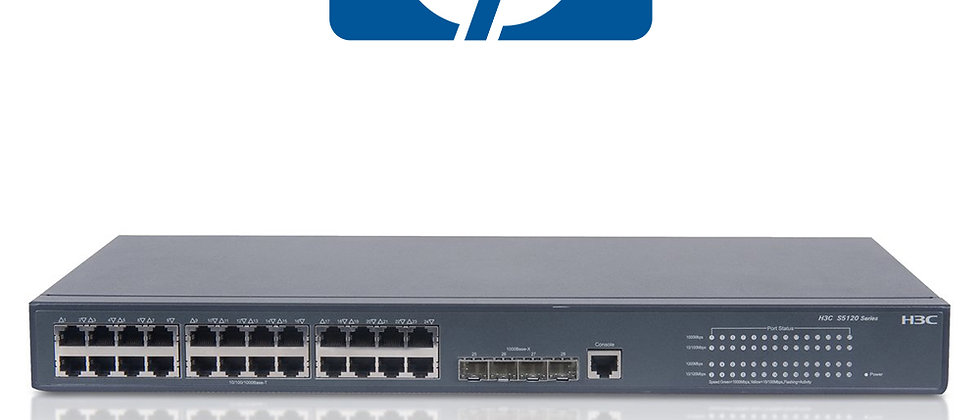 HP 5120-JE074A 24 PORT GIGABIT SWITCH