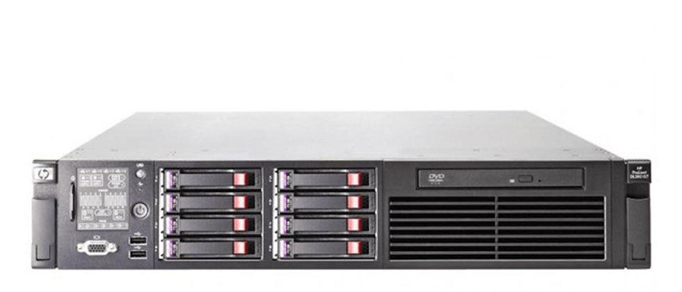 HP PROLIANT DL380 G6, 2xL5640 CPU/16 GB RAM/2x 146 GB HDD SUNUCU