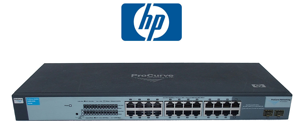 HP ProCurve 1800-24G J9028B 24 Port Gigabit Switch