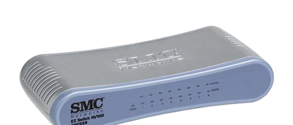 SMC/SMCGS8 10/100/1000Mbps Unmanaged 8 Port Switch