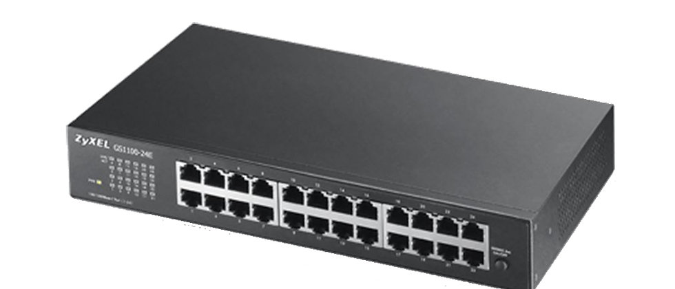ZYXEL GS-1100-24E GIGABIT 24 PORT SWITCH