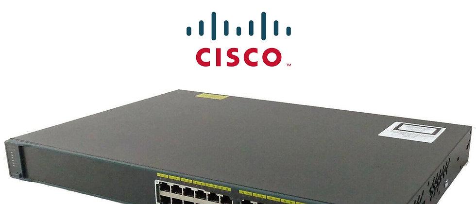 Cisco WS-C2960-24PC-L 24 Port 10/100 8 Port PoE Switch