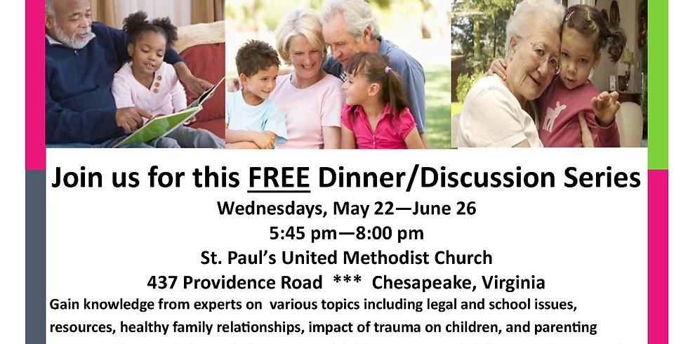 Grandparents Raising Grandchildren Dinner/Discussion Series (1)