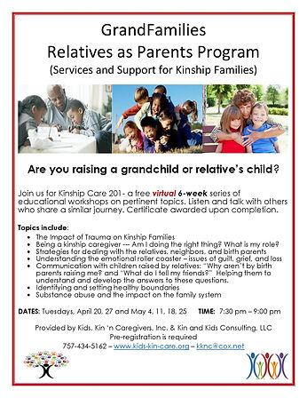 Grandparents-Relatives as Parents Educat