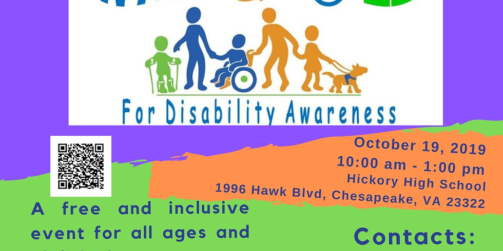 Chesapeake Walk and Roll Disability Awareness Event