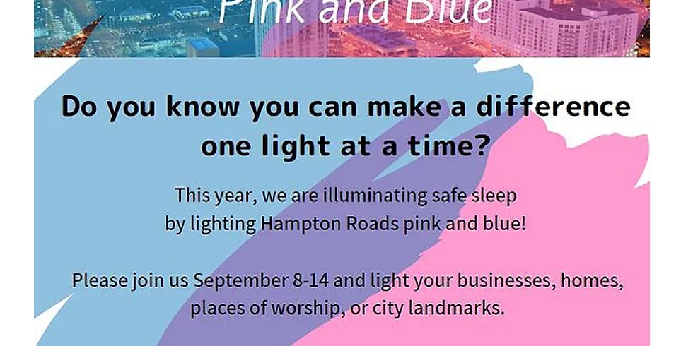 Light Hampton Roads Pink and Blue