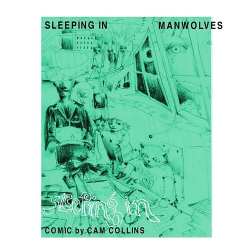 Sleeping In Comic Book by Cam Collins