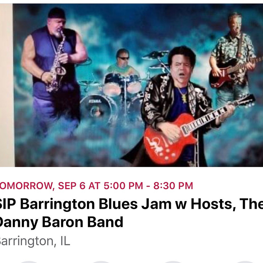 Blues Jam with host Danny Baron Band