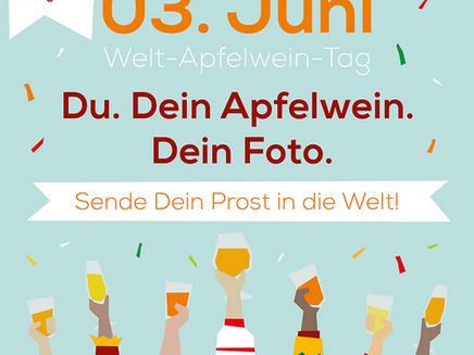 Am 3. Juni ist Welt-Apfelwein-Tag