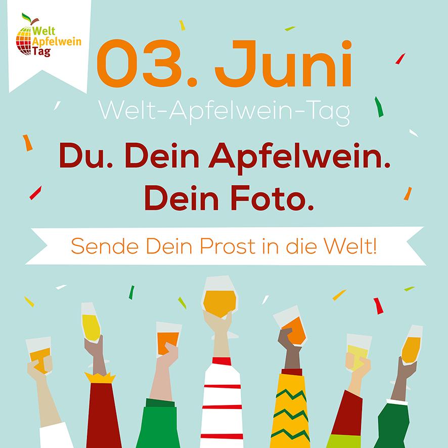 3. Juni Welt-Apfelwein-Tag 2020
