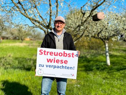 Biete Birnen, suche Obstbaumleiter!