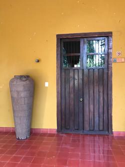 door to the presidential suite