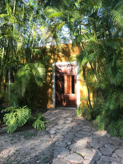 door to a sweet private suite
