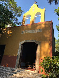 the chapel at Hacienda