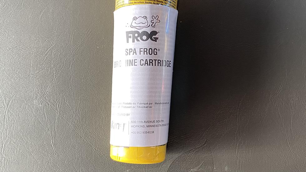 Bromine Spa Frog