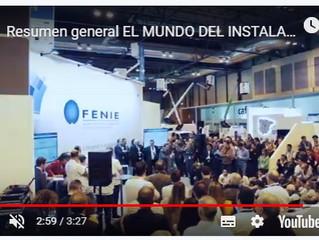 """Resumen General de todo lo que ocurrió en MATELEC en el stand de FENIE """"El mundo del instalador"""