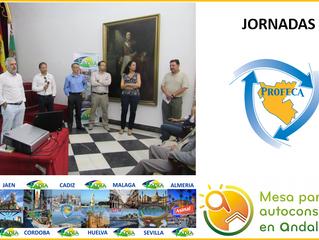 17 de Mayo se celebró la segunda de las jornadas de #autoconsumo en la @diputacioncadiz la ruta del