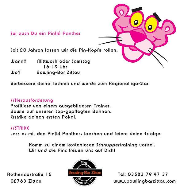 Der Bowlingverein Pink Panther Zittau stellt sich vor. Sei auch Du dabei