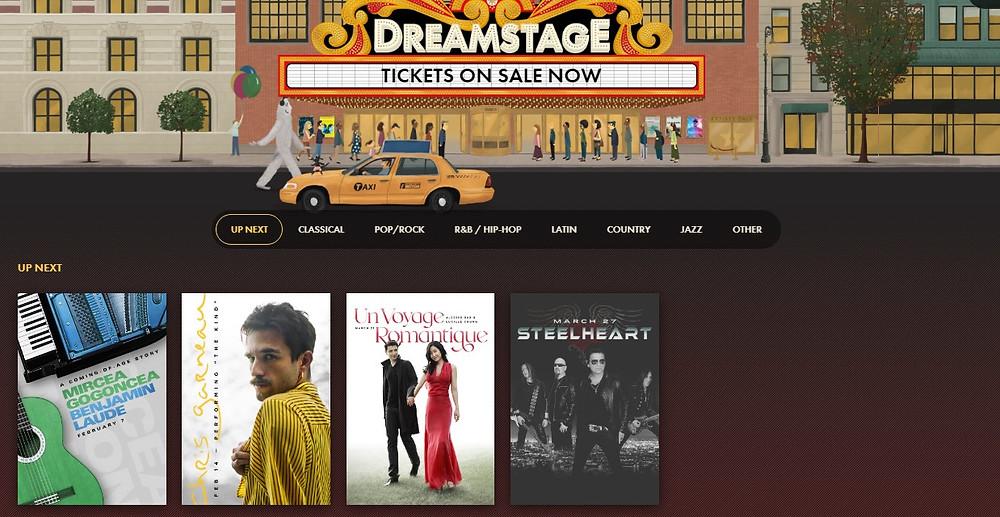 Dreamstage Live Music Platform