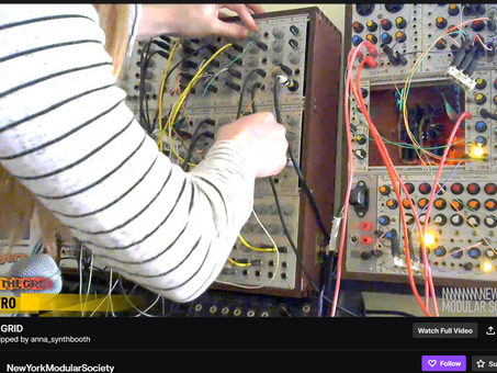 Live Synthesizer & Electronic Music Streams
