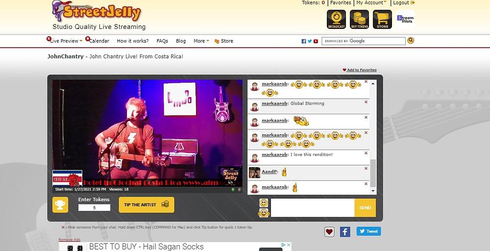 Street Jelly Live Music Platform