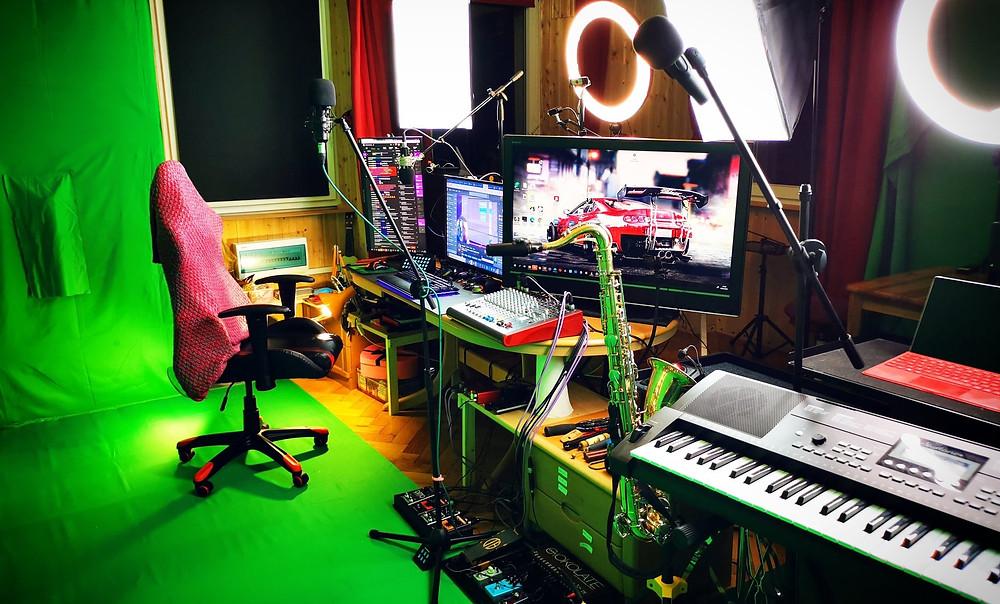 Streaming Studio of Sara Jazz